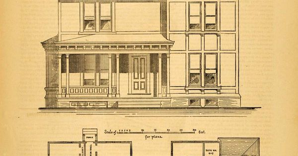 Victorian house floor plans victorian suburban house for Suburban house floor plan