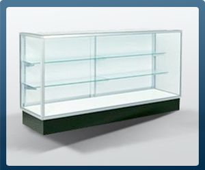 Pin By Discountshowcases Com On Display Cases Retail Display Shelves Display Case Glass Shelves