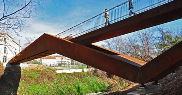 Can Gili Footbridge By Alfa Polaris | Architecture, Public Spaces And Modern  Architecture