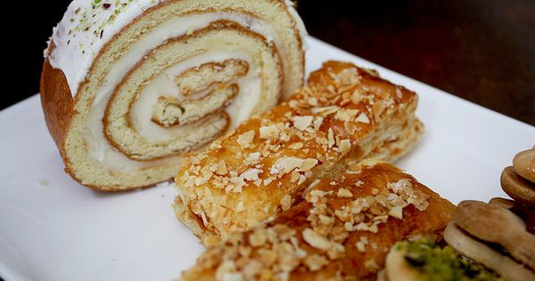 Persian pastries by nooschi via flickr dessert recipes for Arya authentic persian cuisine