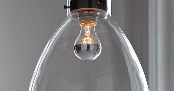 Industrial Glass Pendant