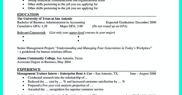 Current phd student resume