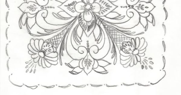 rosemaling pattern Patterns amp