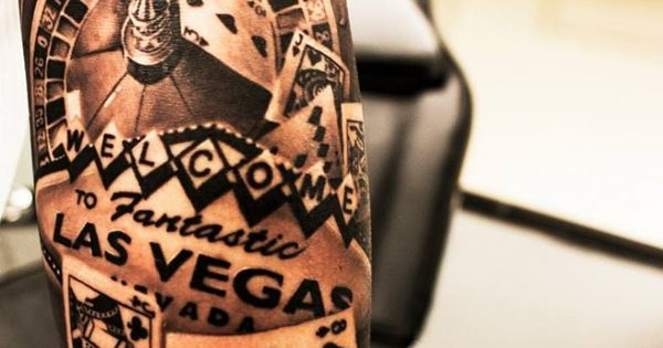 Amazing 3D Roulette Gambling Tattoo Playing Cards | Inked ...