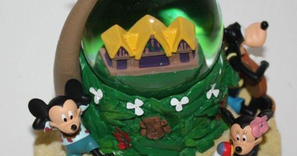 Disney Cruise To Hawaii >> New Disney Parks Aulani Hawaii Snow Globe Mickey Minnie Donald Goofy Stitch Chip | Disney Hawaii ...