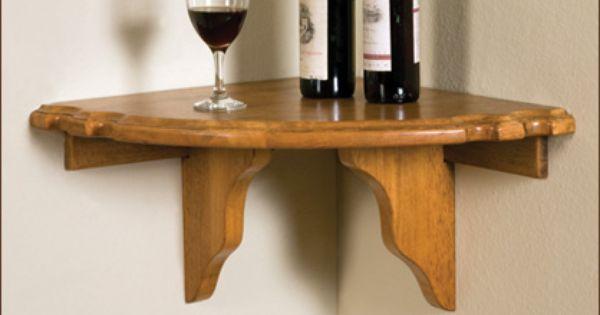 Wall Mounted Bar Table Corner Pub Shelf Http Www Aminis Com