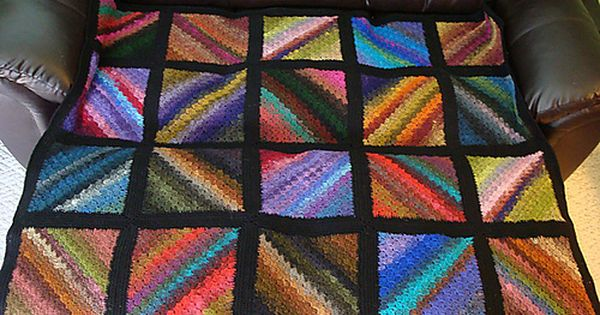 Ravelry Stained Glass Windows Blanket Pattern By Julie