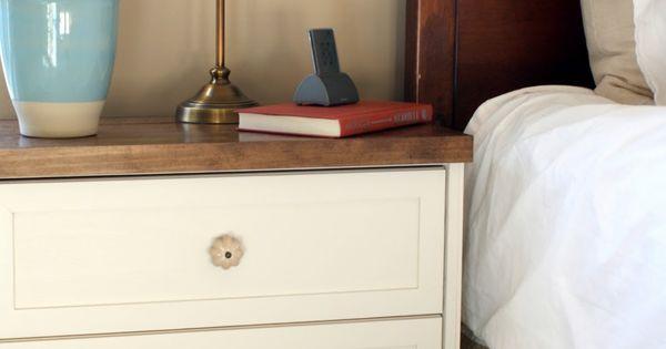 {A CHARMING NEST}: DIY Ikea Rast dressers.