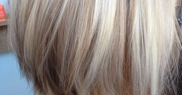 White Blonde Hair with Lowlights