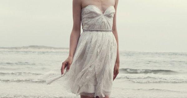 Sarah Seven - silver shimmers dress