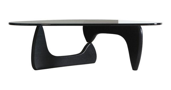isamu noguchi isamu noguchi table basse frene noir verre vitra isamu noguchi l128 x