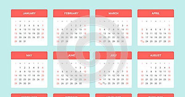 Modelos de base de calendários 2017 em PNG e PDF para aplicar em ...