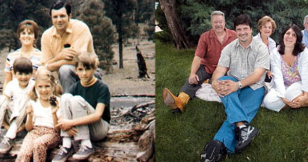Then and Now: Left, the Bonanno family, from New York, in ...