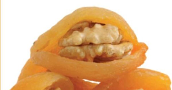 Walnut In Apricot | Turkish Dried Fruits, Vegetables, Nuts | Pinterest