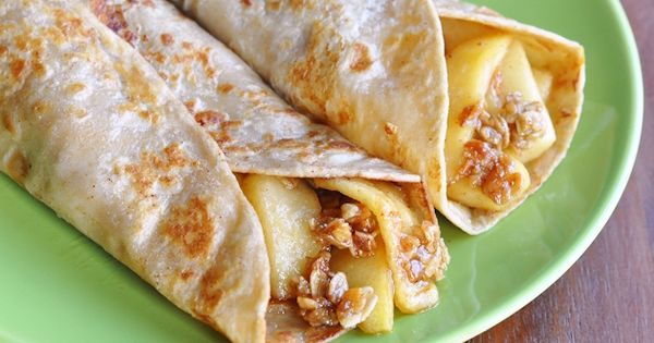CINNAMON APPLE FRENCH TOAST WRAPS RECIPE - A LOW CALORIE ALTERNATIVE TO