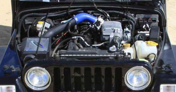 Sprintex Jeep Tj Wrangler 4 0 Supercharger Kit Supercharger