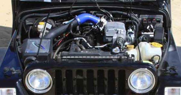 Sprintex Jeep Tj Wrangler 4 0 Supercharger Kit Supercharger