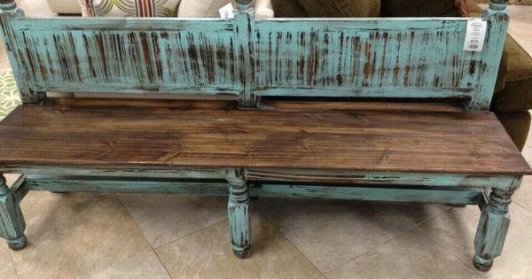 Great Distressed Bench Woman Cave Ideas Pinterest