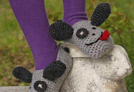 Free Crochet Animal Slippers Pattern Ideas Free crochet