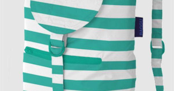 NYLON DAYPACKS: Backpacks are back! A lightweight nylon backpack that folds into