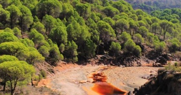 Rio Tinto Huelva Andalucia Spain Most Acidic River In The World Awesome Places