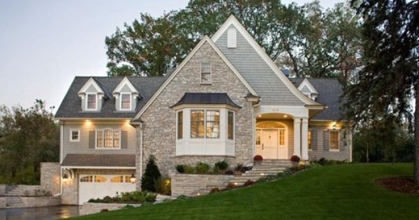 House Color Cottage Exterior Traditional Exterior