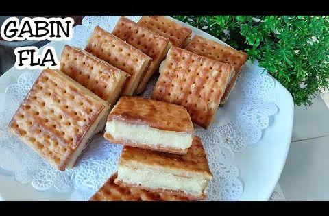 Resep Gabin Fla Lembut Dan Gurih Cuma Diaduk No Mixer Jajanan Jadul Enak Sepanjang Masa Youtube Makanan Resep Masakan