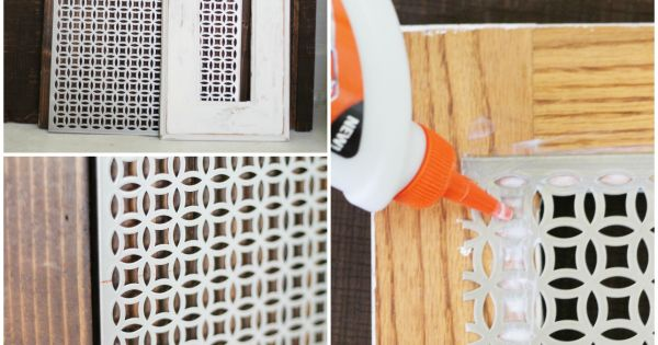 Diy Decorative Vent Cover Tutorial Make These Pretty