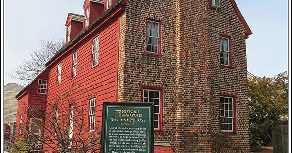 The Shiplap House C. 1715 On Pinkney Street In The