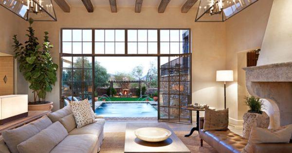Mediterranean Living Room Design Pictures Remodel Decor And Ideas