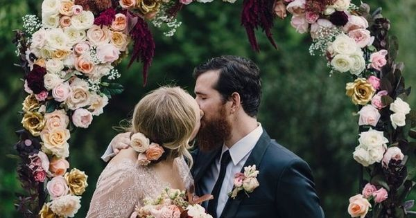 Figs, Garnets and Gold – An Autumn Wedding Inspiration Board in Blush