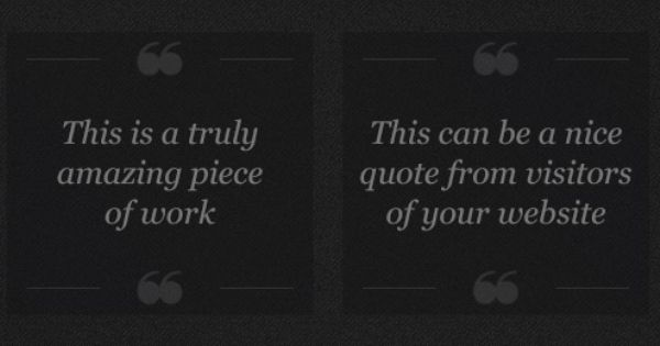 Freebie A simple Quotation Template (PSD) Коллаж Поделки - how to create a quotation template