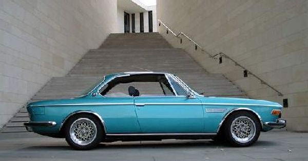 Pic Request Rial Basket Weave Wheels On E9 Classic Cars Bmw E9