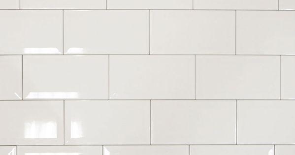 Photo d 39 ambiance du carrelage 10x20 blanc biseaut m tro for Retirer du carrelage mural