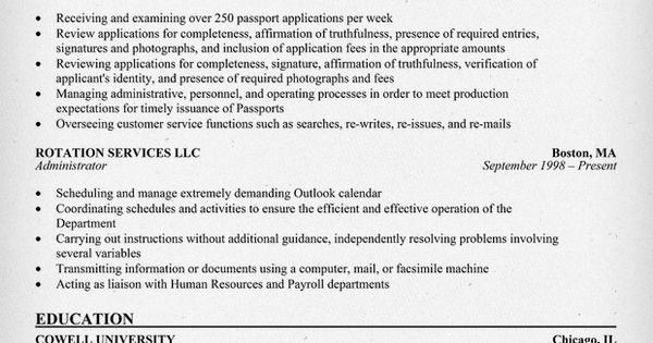 government resume exle resumecompanion