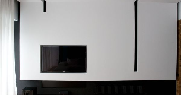 Blue Ribbon by ScapeArchitecture  interiors :: tv wall  Pinterest  거실, 조명 ...