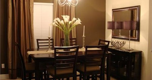 17 Best Ideas About Brown Dining Room Paint On Pinterest Brown