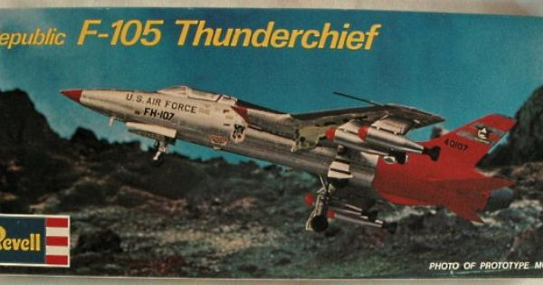 Revell F 105 Thunderchief 1 72 Revell Box Art Model Kit