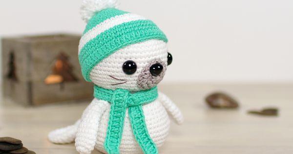 Free Crochet Amigurumi Seal Pattern : Free pattern by Little Muggles: Sammy the Seal // Kristi ...