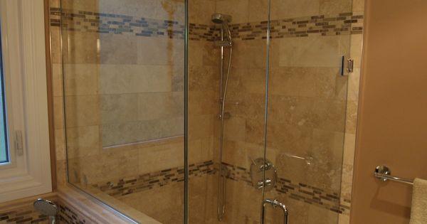 Stand Up Shower Jacuzzi Tub Bathroom Design Renovation Pinterest
