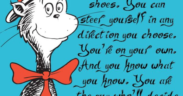 Dr Seuss Graduation Card Congratulations fun card by ...