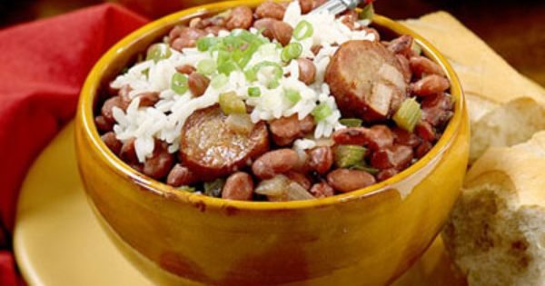 New Orleans Red Beans And Rice Recipe... crock pot
