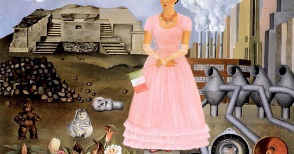 frieda kahlo autoportrait la fronti re entre le mexique et les etats unis histoire des. Black Bedroom Furniture Sets. Home Design Ideas