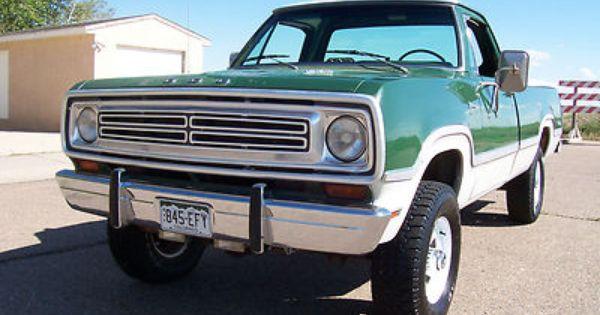 Dodge Power Wagon Adventurer Sport In Dodge Ebay Motors With
