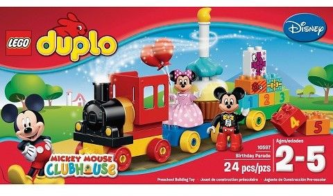 Lego Duplo Mickey Minnie Birthday 10597 Mickey Mouse Clubhouse Birthday Mickey Mouse Birthday Lego Duplo