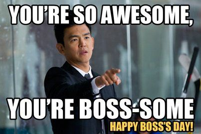 October 16th is Boss's Day | Happy boss's day, Boss day quotes, Bosses day
