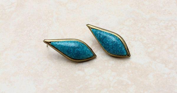 Turquoise Odette Teardrop Earrings | Emma Stine Jewelry Set