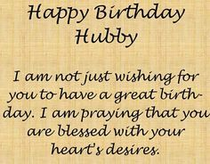 Husband Wishes Messages Images Quotes Happy Birthday Husband