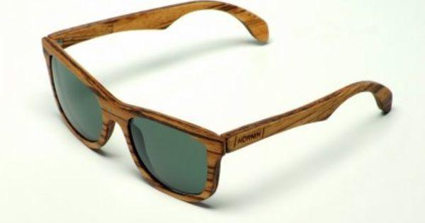 Kornik Zebrano Drewniane Okulary Glasses Sunglasses Worn