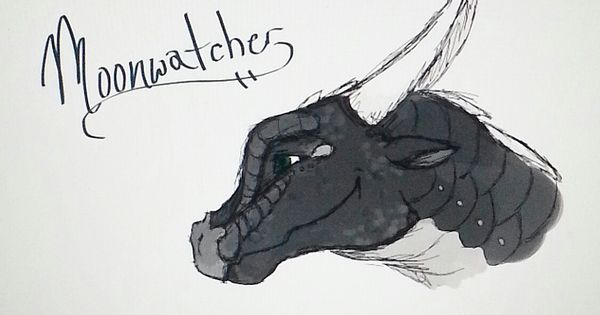 Wings Of Fire Moonwatcher Drawing Wings Of Fire